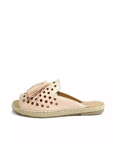 Ballerins Sandalet Pudra